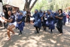 """PARKTOWN UNITED: All Res Council (ARC) Treasurer Tebogo Mothivhi singing along with the workers last week Thursday during their protest. Singing """"uHabib kasoze ayithole le"""" the workers, were mainly concern with their jobs if the residence closes."""