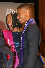 Mr and Miss Wits Res 2015, Olwethu and Francis.